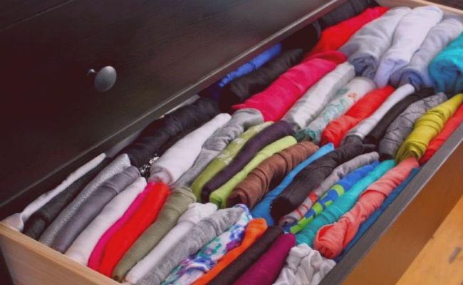 cómo organizar un armario