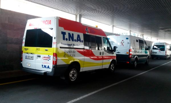 servicio de ambulancias privadas