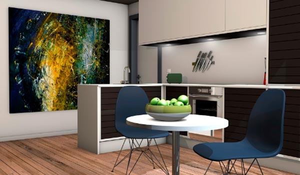 aprovechar el espacio en el hogar y el edificio