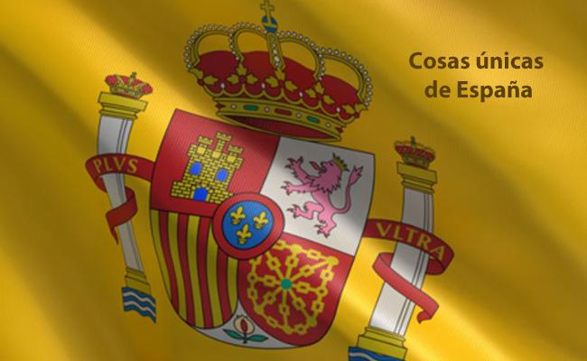 cosas únicas de España