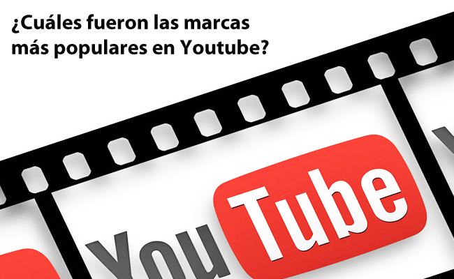 marcas populares en Youtube