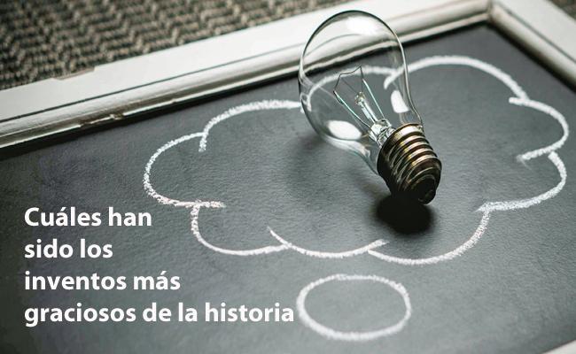 inventos graciosos de la historia
