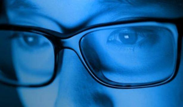 exposición a la luz azul